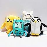 peluche 12-31cm Adventure Time Jake Finn Beemo Pinguino Morbido Peluche Ripiene Bambole Giocattolo Regalo Per Bambini