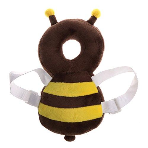 Gazechimp Baby Kleinkind Kopfschutz Kopfkissen Kopf Unterstützung Fallschutz - Biene, wie beschrieben