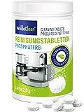 WoldoClean Compresse detergenti senza fosfati per macchine da caffè automatiche, macchine da caffè, Jura, Delonghi, Bosch, Siemens Seaco 140x