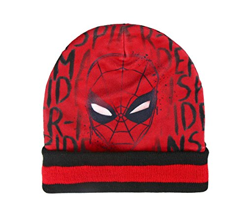 Spiderman set 3 pieces écharpe Gants Bonnet