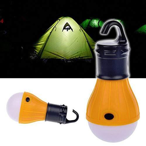 1 stuk mini outdoor nachtlampje tent led-lamp waterdicht opknoping haak noodlamp voor kamperen of vissen lamp gebruik 3 * AAA