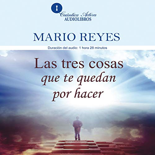 Las tres cosas que te quedan por hacer [The Three Things You Have Left to Do] copertina