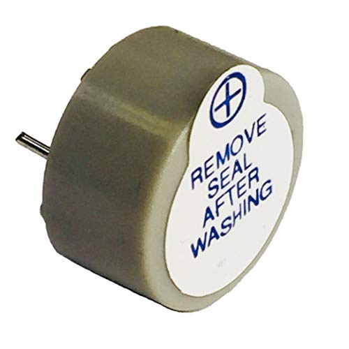 "Pack of 10 Buzzer 5V Gray/Grey Colored 0.866"" Dia (22.00mm) 0.492"" (12.50mm) Continous Sound Beep Continuously Alarm ABT-402-RC"