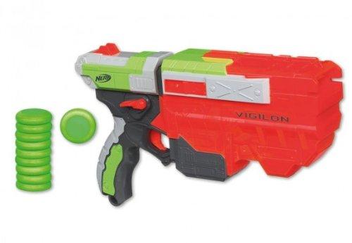 Hasbro 38556 - Nerf - Vortex Vigilon + 10 Schuss