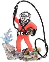 Aquarium Treasure Diver, Aquarium Decor Hunter Treasure Figure Action Fish Diver Tank Ornament - Aquarium Decoration Diver, Diver Aquarium Ornament, Aquarium Treasure