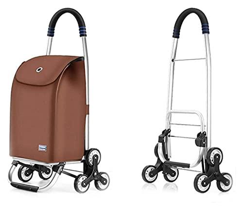 Dee Multifunción Compras Trolleys Cocina Almacenamiento Utility-Carts Trailer Equipaje Carrito Plegable Comestibles Hogar (Size : 32x38x91cm)
