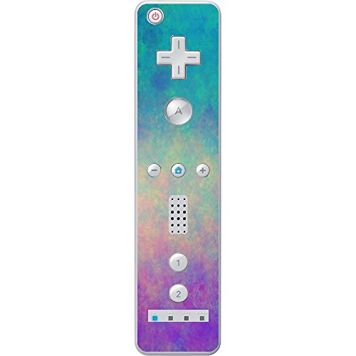 Colorful Design Marble Texture Vinyl Decal Sticker Skin by Moonlight Printing for Wiimote Wii Controller