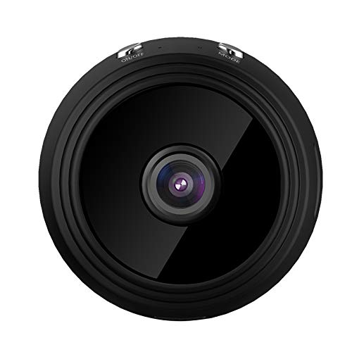 YMKT Mini Cámara WiFi IP A9 Videocámara de Visión Nocturna 1080P HD DVR Alarma de Seguridad para El Hogar de Detección de Movimiento Inalámbrica V380 Pro App Pequeña Cámara Nanny con