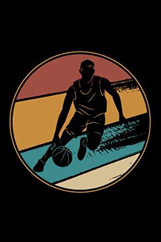 Basketball: Notizbuch a5 kariert mit 120 Seiten | Schönes Geschenk Basketball Sport Hobby Wettkampf Kindergeburtstag Muttertag Vatertag Notizblock Notizheft Journal