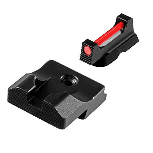 TRUGLO Fiber-Optic PRO Competition High Visibility Handgun Sights, CZ 75 Series