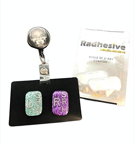 Xray Tech Bundle, Xray Markers, Small Rectangle, Badge Reel, Marker Holder, Radhesive