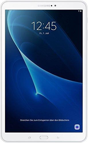 Samsung Galaxy Tab A (SM-T580NZWADBT) 25,54 cm (10,1 Zoll) WiFi Tablet PC (Octa Core, 16 GB eMMC, 2 GB RAM, Android 6.0) weiß