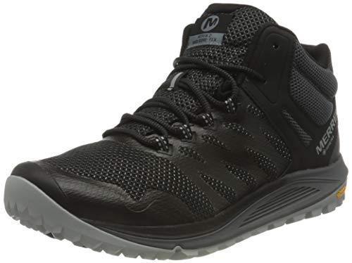 Merrell Nova 2 Mid GTX, Zapatillas para Caminar Hombre, Negro (Black), 44 EU