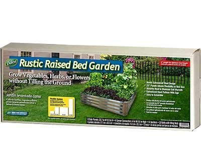 Dalen Rustic Raised Bed Garden; Grow Vegetables, Herbs, or Flowers Without tilling The Ground