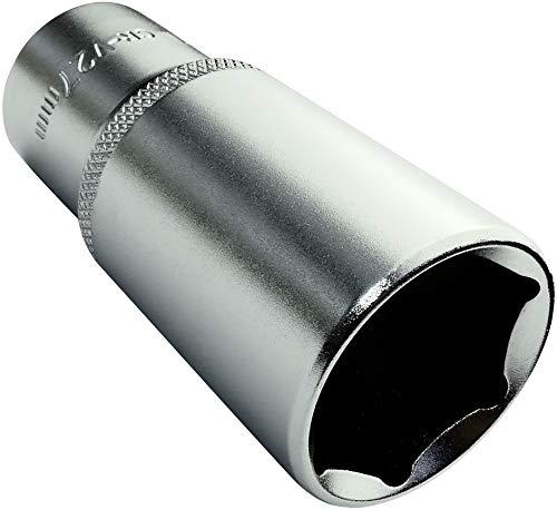 AERZETIX - Llave de vaso - Profundo/extendido/largo - 1/2x27mm - para atornillar/trinquete...