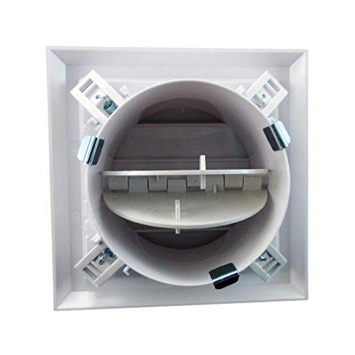 Airtech Zwaartekracht Rolluiken - Externe Muur Grille, Hydroponics, Binnenlandse Ventilatie Lca