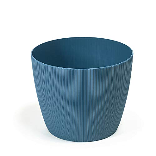 Lamela Blumentopf Übertopf Blumenkübel in 3 Farben 7 Größen TOP Neuheit! Ø 30cm Blau