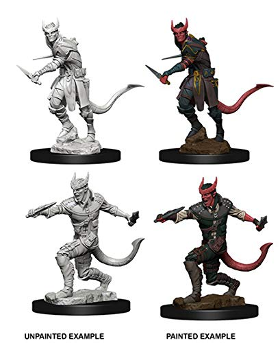 Dungeons & Dragons Nolzur's Marvelous Unpainted Minis: Tiefling Male Rogue