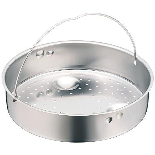 WMF Schnellkochtopf-Zubehör, Dampfer-Einsatz 10,3 cm, gelocht, für Schnellkochtopfe 3,0-8,5 l, 22 cm, Cromargan Edelstahl, spülmaschinengeeignet
