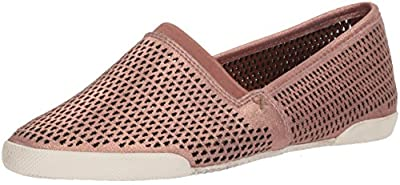 Frye Women's Melanie Perf Slip On Sneaker, Rose Gold, 8 M US