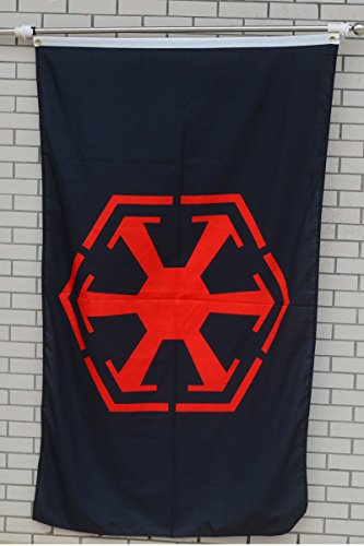 Fyon Large Flag Sith Empire Flag 3X5Ft