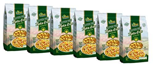 Pasta d´oro – Glutenfreie Nudeln (Cornetti Rigati) aus Maismehl 12er Pack (12 x 500 g)