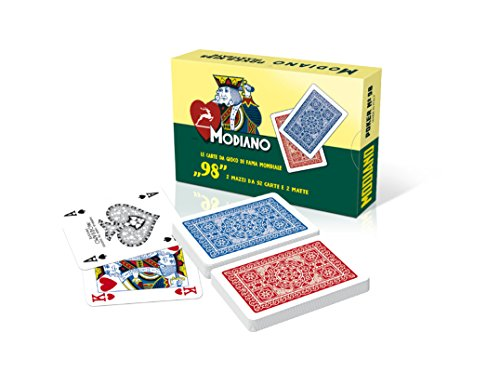 MODIANO Poker 98 - Carte da poker italiane