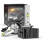 VehiCode D1S LED Headlight Bulb 6000K 35W HID...