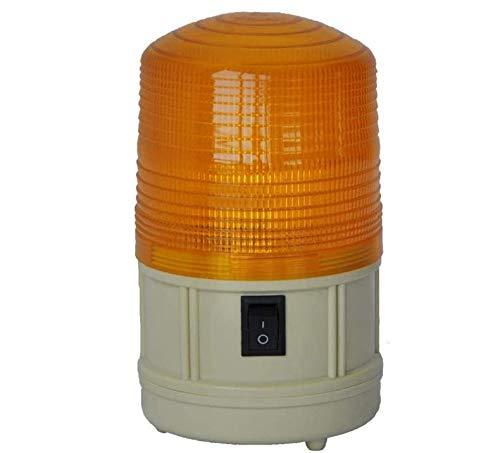 Advertencia de luz LED, batería parpadeante luz estroboscópica de alarma de iluminación con el imán de Base, Automotrices luces estroboscópicas de emergencia for el vehículo de la carretilla elevadora