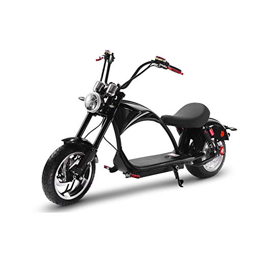 TOXOZERS Electric Adult Citycoco 2500w Motor Fat Tire Scooter with Front & Rear Hydraulic Brakes