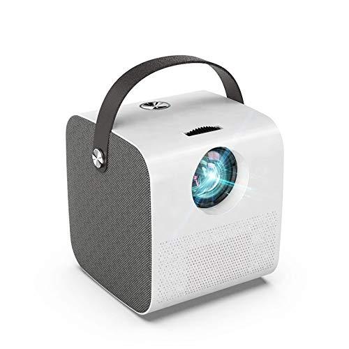 2800 lúmenes soporta Full HD 1080P 3D video, proyector de cine en casa mini LED