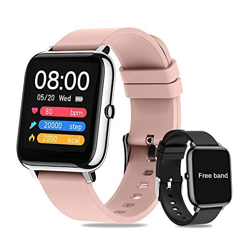 Smartwatch Pulsera Inteligente,Salandens Reloj Deportivo Pantalla Táctil Completa de 1.4 Pulgadas,Pulsera Actividad Impermeable IPX7...