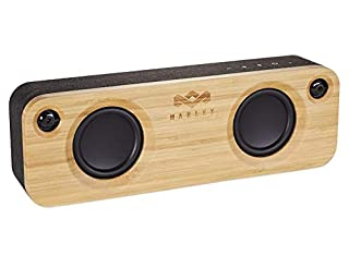 House of Marley, Get Together Bluetooth Portable Audio System - 3.5 Woofer & 1 Tweeters, 30m Wireless Range, 8 hour Playtime,Built In Battery, Sustainably Crafted, Signature Black (B01IOD7KB6) | Amazon price tracker / tracking, Amazon price history charts, Amazon price watches, Amazon price drop alerts