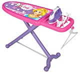 Jamara 460259 Little Laundry Princess – Rollenspiel Bügelset – Stabile Kippsichere Mechanik, für Kinder Optimierte Höhe, Wäscheklammern, Kleiderbügel zum Aufhängen Der Kleider, leichte Montage