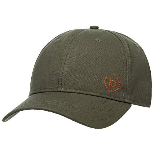 Bugatti Organic Cotton Cap Basecap Baseballcap Herrencap Damencap Golfcap Sonnencap Baumwollcap (S/M (55-57 cm) - Oliv)