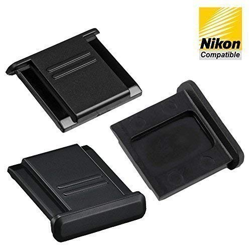 3pcs Hot Shoe Cover Protector Replaces Nikon BS-1 fits all Nikon SLR and DSLR Cameras (D7000 D5100 D5000 D3300 D800 D600 D700 D300S etc)