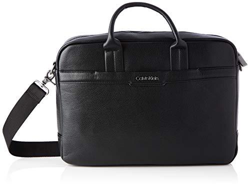 Calvin Klein Sac d'ordinateur pour homme - Noir - Noir, One Size