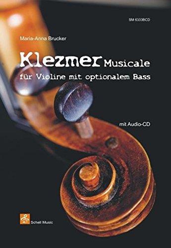 Klezmer Musicale - für Violine mit opt. Bass (+Cd) (Noten für Geige, Violine)