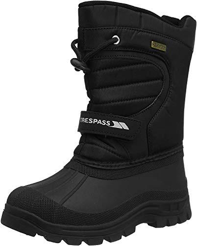 Trespass Unisex dziecięce buty zimowe Dodo, czarny, 28 EU
