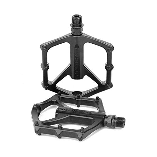 BNVB 1Pair Mountain Bike Pedals Non-Slip Lightweight Aluminium Alloy Large Surface Bicycle Bearing Riding DU Pedals for Road MTB BMX Most Bicycle