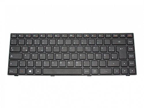 IPC-Computer Medion Original Tastatur DE (deutsch) schwarz/schwarz matt für Lenovo IdeaPad 100-14IBY (80MH/80R7)
