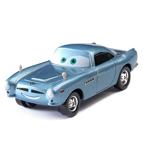 WXX Diney Coche del Coche de Pixar 3 Rayo Mcqueen Mater Jackon Torm Metal Vehículo Ramírez 01:55 Diecat aleación Boy Kid Juguete Chritma (Color : MC.Missile)