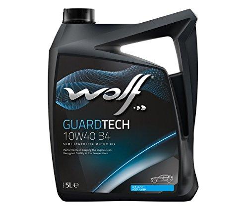 Wolf Bidon 5 litres d'huile Moteur 10W40 8304019