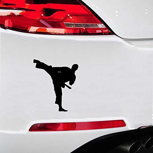 Wetterfeste Aufkleber Auto 10,5x12 Cm Taekwondo Karate Hübscher Junge Auto Aufkleber Auto Dekorative Accessoires Aufkleber Für Auto Laptop Fenster Aufkleber