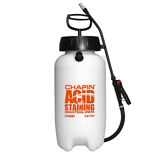 Chapin 22240XP 2-Gallon Industrial Acid Staining Sprayer with Pressure