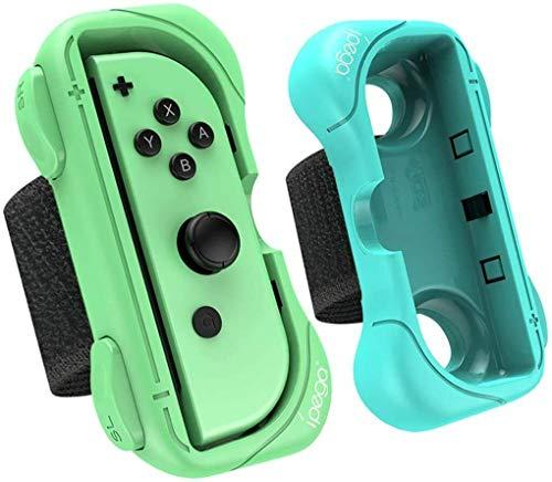 Yangers Armband für Nintendo Switch Controller Just Dance-Spiel, 2 verstellbare Armbänder für den Griff für Joy-Con-Spiele Just Dance 2021 2020 2019 2018 2017 Zumba Burn It Up