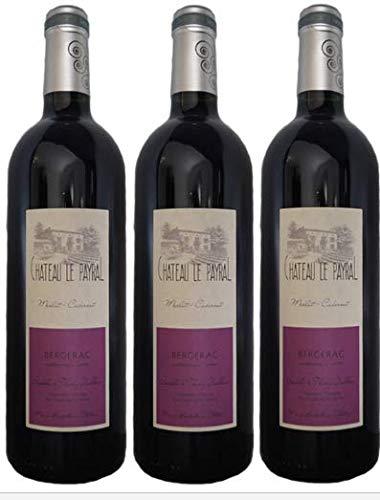 Bergerac 2018 BIO, Vino Tinto, en en lote de 3 botellas de 75cl