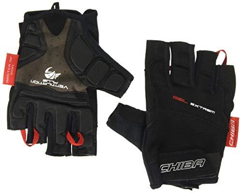 Chiba Unisex's Premium Gel Extreme Glove, Black, 2X-Large