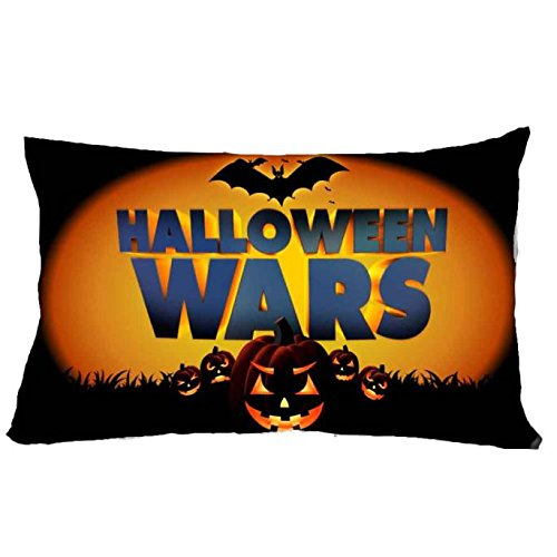 jieGorge 30*50cm Halloween Square Pillow Cover Cushion Case Pillowcase Zipper Closure , Pillow Case for Halloween Day (C)