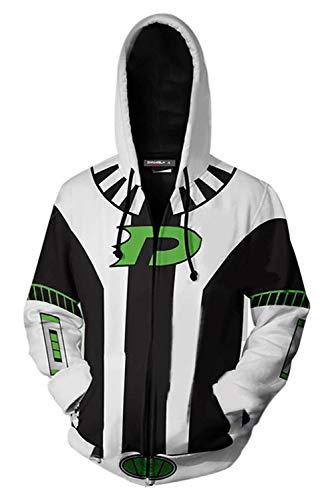 Bilicos Coat Mantel Hoodie mit Kapuze Kapuzenjacke Hooded Kapuzenpulli Sweatshirt Danny L (Brustumfang 110cm)